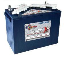 US Battery Set 4×12 Volt for golf carts