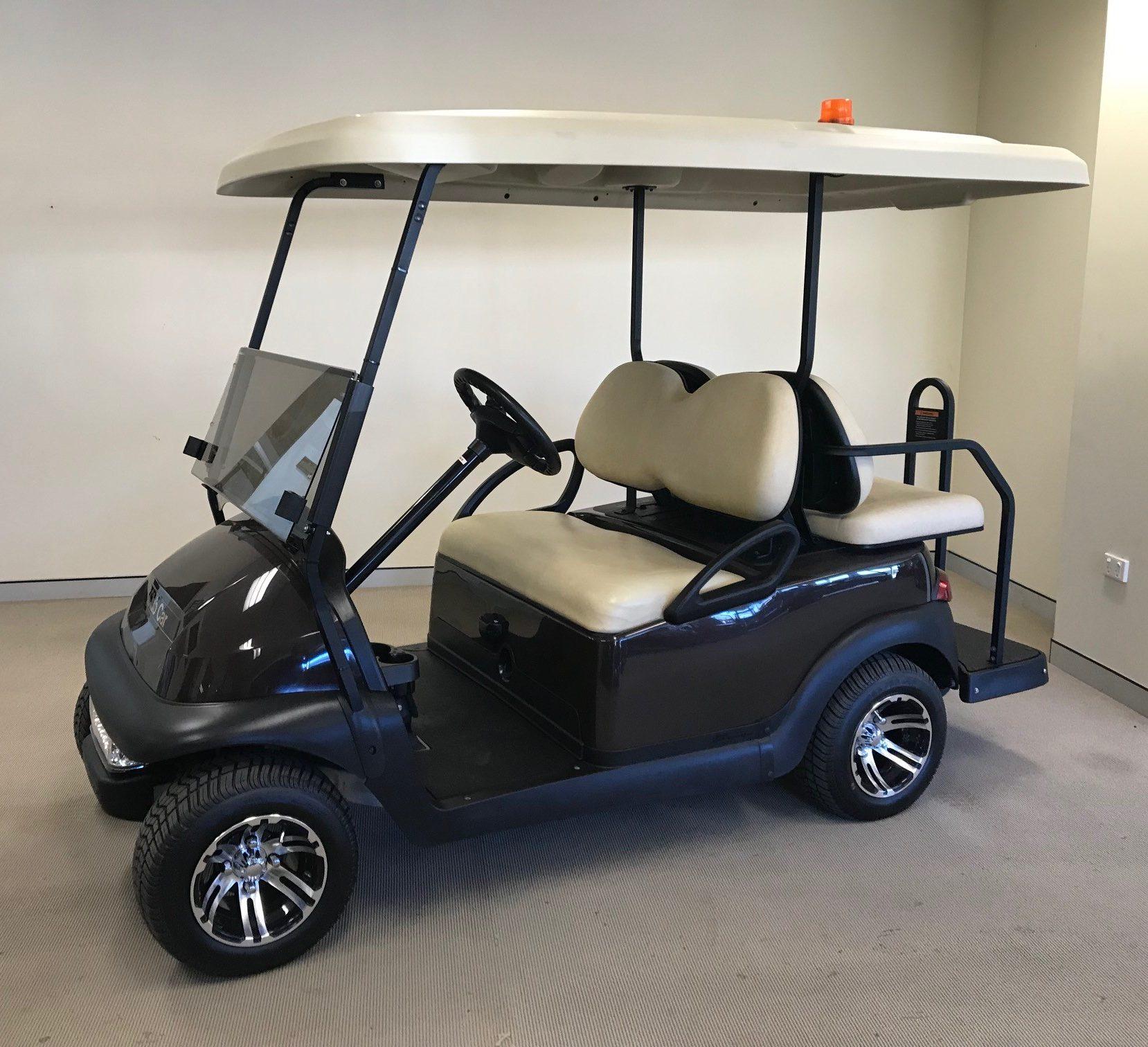 Club Car Villager 4 2016 48V Electric - Highland Golf Carts