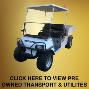Pre Owned Transport & Utility